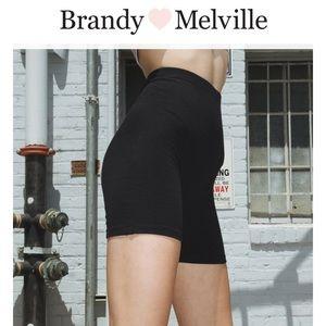 NWOT brandy melville biker shorts